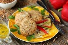 «Гречаники паровые в мультиварке» - приготовления блюда - шаг 11