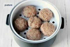 «Гречаники паровые в мультиварке» - приготовления блюда - шаг 9