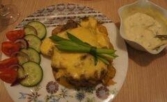 «Мясо, запеченное в фольге с картофелем» - приготовления блюда - шаг 7
