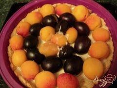 «Пирог с франжипаном и фруктами» - приготовления блюда - шаг 7