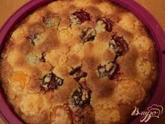 «Пирог с франжипаном и фруктами» - приготовления блюда - шаг 9