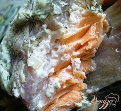 «Запеченная форель с овощами под соусом» - приготовления блюда - шаг 8