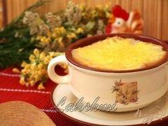 «Томатный суп с сырной корочкой» - приготовления блюда - шаг 3