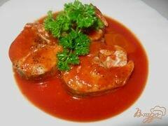 «Судак в томатном соусе» - приготовления блюда - шаг 7