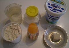 «Сметанковый хлеб» - приготовления блюда - шаг 1
