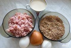 «Запеканка из гречки с фаршем» - приготовления блюда - шаг 1