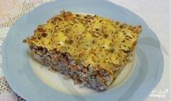 «Запеканка из гречки с фаршем» - приготовления блюда - шаг 5