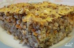 «Запеканка из гречки с фаршем» - приготовления блюда - шаг 6
