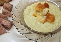 «Холодный суп - пюре из сельдерея» - приготовления блюда - шаг 6