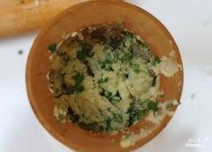 «Чесночный сыр» - приготовления блюда - шаг 5