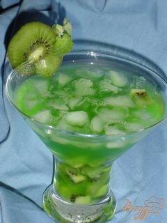 """«Коктейль """"Зеленый фрукт""""» - приготовления блюда - шаг 2"""