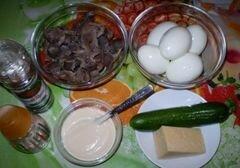 «Салат из куриных желудков» - приготовления блюда - шаг 1