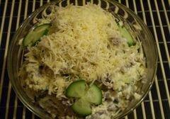 «Салат из куриных желудков» - приготовления блюда - шаг 7