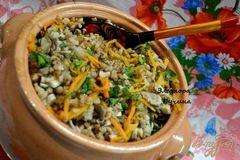 «Постный горшочек с гречкой.» - приготовления блюда - шаг 4