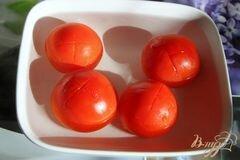 «Баклажаны под томатным соусом с корицей» - приготовления блюда - шаг 3
