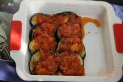«Баклажаны под томатным соусом с корицей» - приготовления блюда - шаг 6