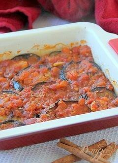 «Баклажаны под томатным соусом с корицей» - приготовления блюда - шаг 7