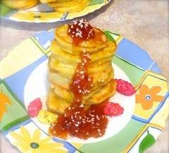 «Оладьи с яблоком и морковью» - приготовления блюда - шаг 5