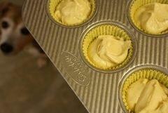 «Банановые кексы с ганашем и кремом» - приготовления блюда - шаг 11