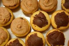 «Банановые кексы с ганашем и кремом» - приготовления блюда - шаг 15