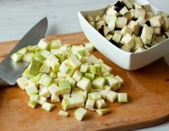 «Куриные грудки с овощами и бальзамическим соусом» - приготовления блюда - шаг 1