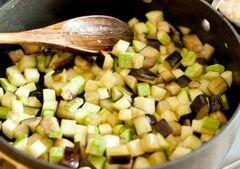 «Куриные грудки с овощами и бальзамическим соусом» - приготовления блюда - шаг 5