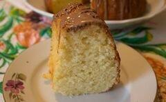 «Творожный кекс» - приготовления блюда - шаг 10