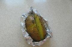 «Картофель с сырно-рыбной начинкой» - приготовления блюда - шаг 5