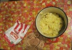 «Пирожки картофельные с грибной начинкой» - приготовления блюда - шаг 2