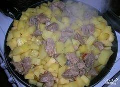 «Азу с картошкой» - приготовления блюда - шаг 4