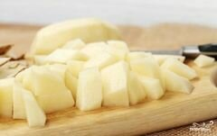«Картофель в сливках в мультиварке» - приготовления блюда - шаг 3