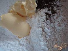 «Шоколадный тарт с кремом из маскарпоне» - приготовления блюда - шаг 1