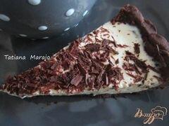 «Шоколадный тарт с кремом из маскарпоне» - приготовления блюда - шаг 11