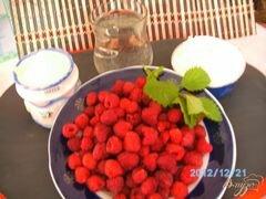 «Кисель из малины» - приготовления блюда - шаг 1