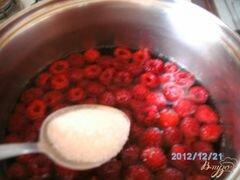 «Кисель из малины» - приготовления блюда - шаг 2