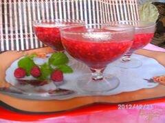 «Кисель из малины» - приготовления блюда - шаг 4