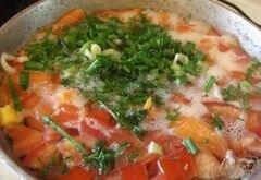 «Суп с томатами» - приготовления блюда - шаг 6