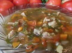 «Суп с томатами» - приготовления блюда - шаг 8