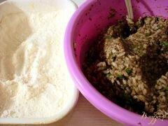 «Котлеты грибные» - приготовления блюда - шаг 7