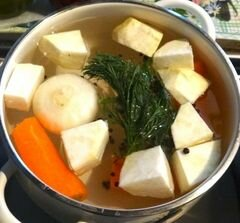 «Супчик с фрикадельками и тыквой» - приготовления блюда - шаг 2