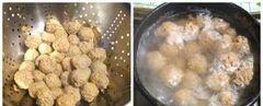 «Супчик с фрикадельками и тыквой» - приготовления блюда - шаг 5