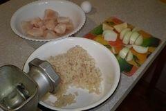 «Котлеты из щуки» - приготовления блюда - шаг 1