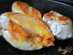 «Салат с куриным мясом и перцем» - приготовления блюда - шаг 2