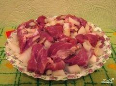 «Мясо по-мексикански» - приготовления блюда - шаг 3