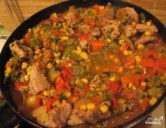 «Мясо по-мексикански» - приготовления блюда - шаг 8