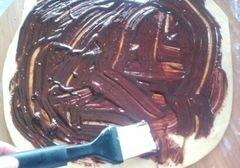 «Орехово-шоколадный кранч» - приготовления блюда - шаг 5