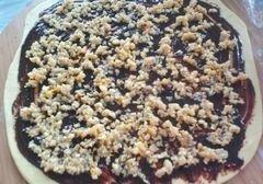 «Орехово-шоколадный кранч» - приготовления блюда - шаг 6