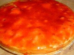 «Заливной клубничный пирог» - приготовления блюда - шаг 7