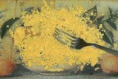 «Сырные шарики с сюрпризом» - приготовления блюда - шаг 7