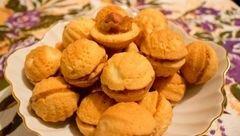 «Орешки с вареной сгущенкой и фундуком» - приготовления блюда - шаг 13